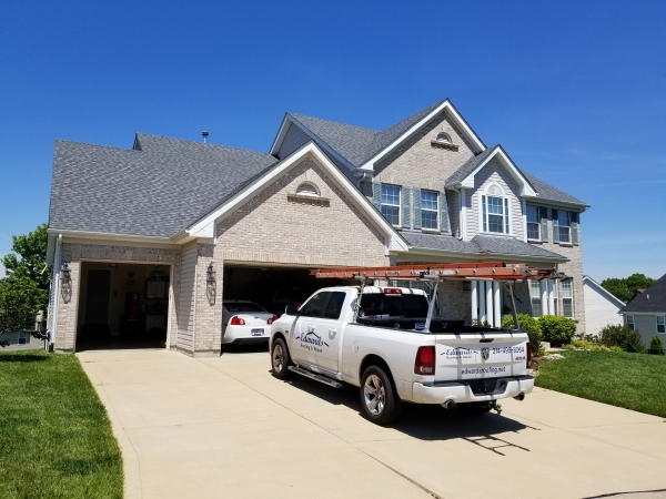 Hail Damage Insurance Claims Hillsboro MO - Roof Repair - Edwards Roofing - 20170515_115730
