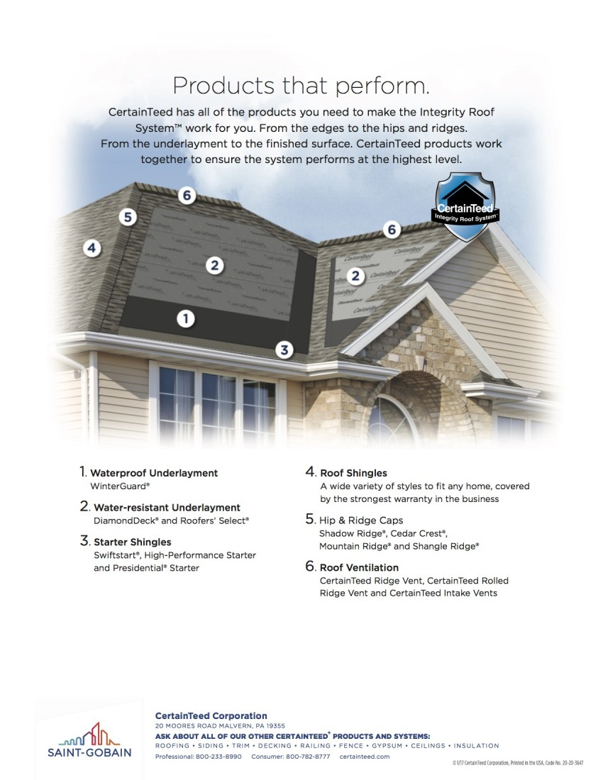 Certainteed Roof System Warranty Edward S Roofing